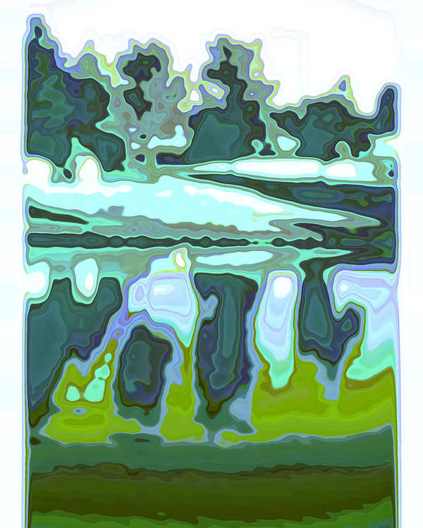 Abstract Poster featuring the photograph Captivate by Tom Druin