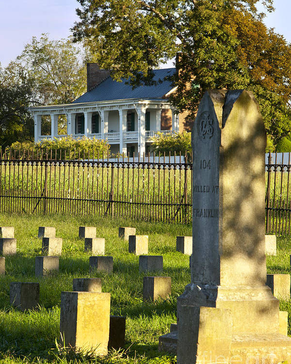 Carrie Mcgavock Poster featuring the photograph Carnton Plantation by Brian Jannsen