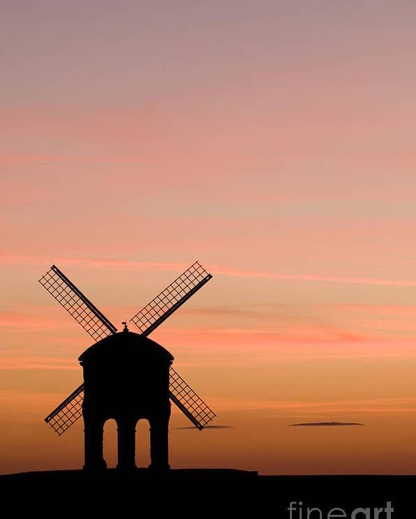 17th Poster featuring the photograph Chesterton Windmill by Anne Gilbert