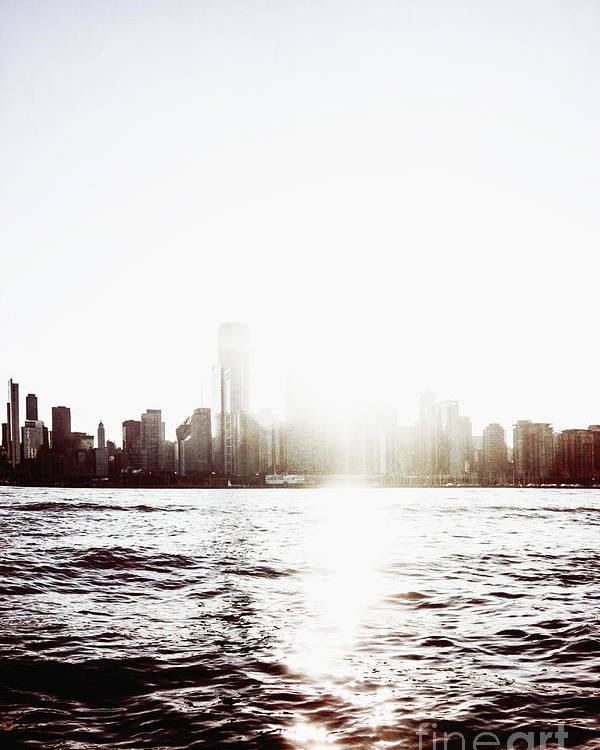 America Poster featuring the photograph Chicago Skyline II by Margie Hurwich