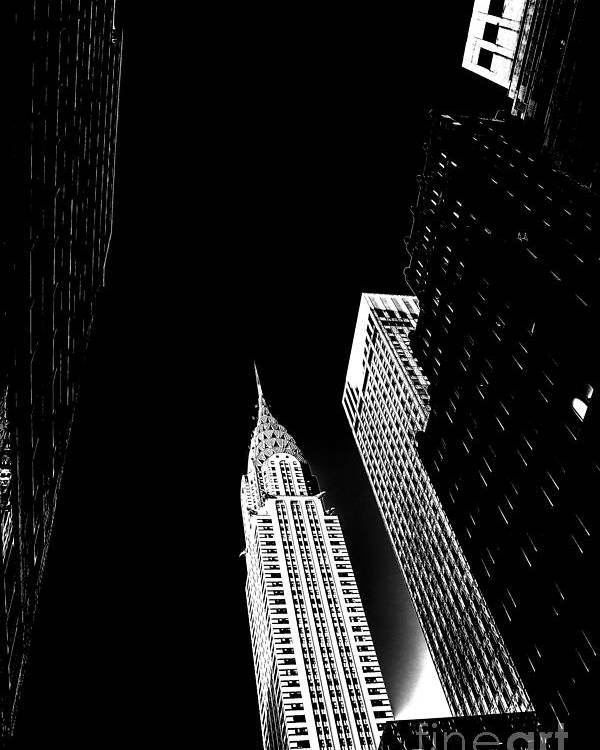 Chrysler Building Poster featuring the photograph Destiny by Az Jackson