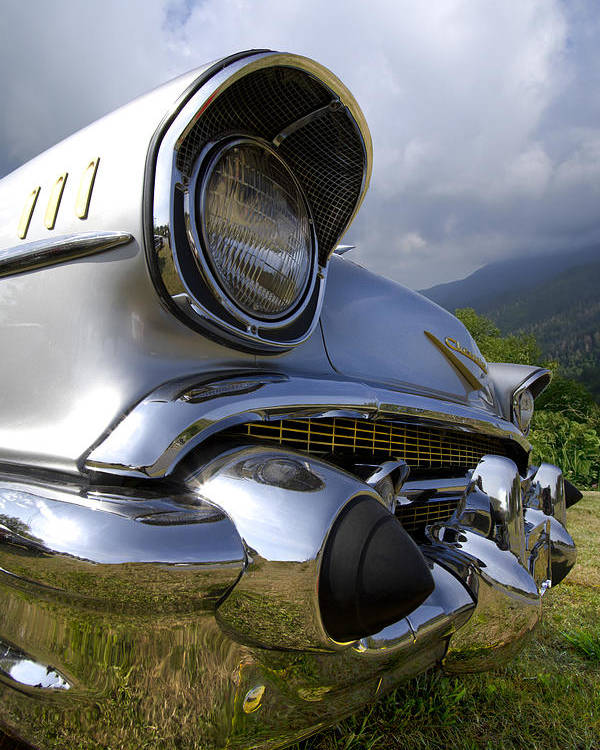 57 Poster featuring the photograph Classic Chevrolet by Debra and Dave Vanderlaan