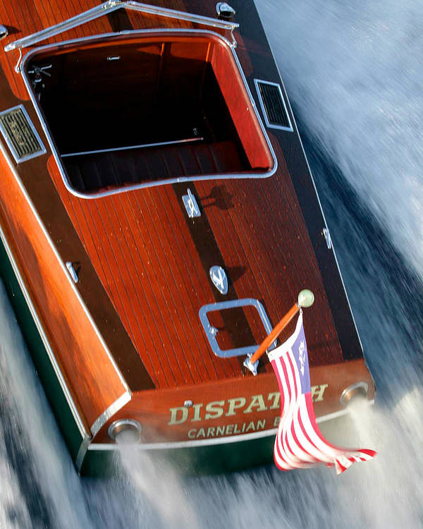 Riva Poster featuring the photograph Classic Garwood by Steven Lapkin