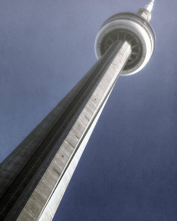 Tower Poster featuring the photograph Cn Tower by Joana Kruse
