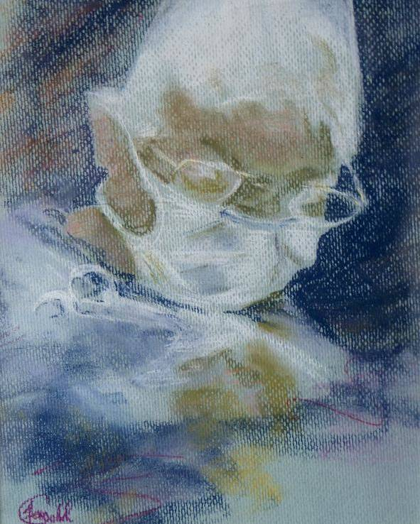Medical Poster featuring the painting Concentration by Janice Gell