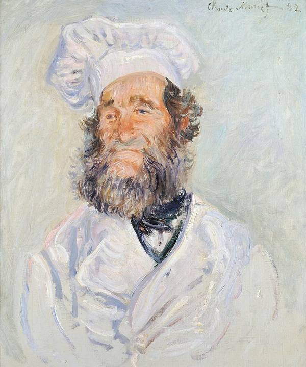 Art; Painting; 19th Century Painting; Europe; France; Monet Claude; Cook; Monet Poster featuring the painting Cook by Claude Monet