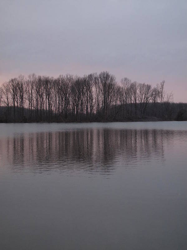 Crab Orchard Lake Poster featuring the photograph Crab Orchard Lake At Peace - 3 by Frank Chipasula