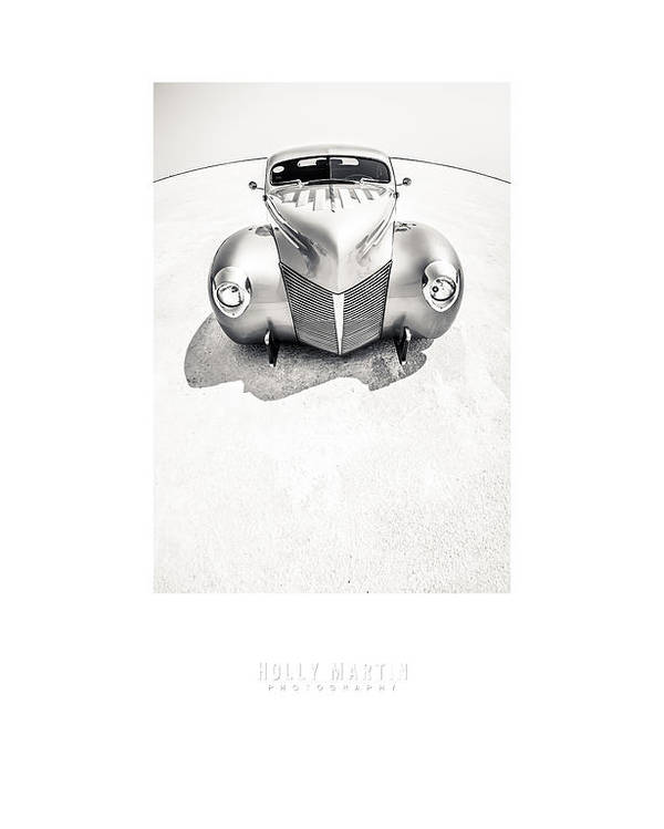 Antique Automobile Poster featuring the photograph Custom Salt by Holly Martin