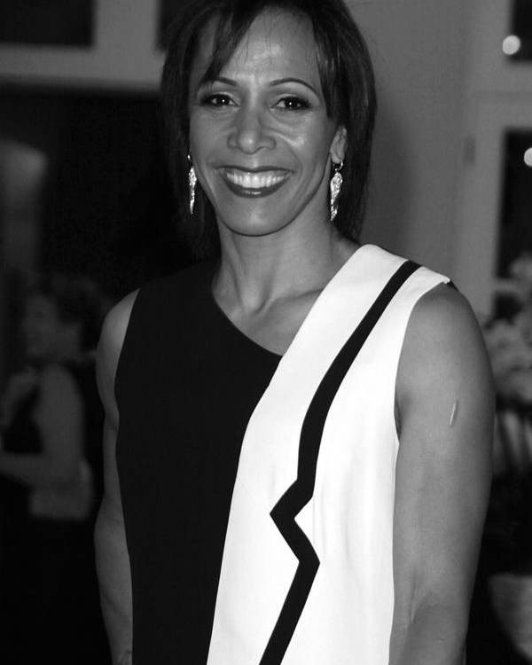 Jezcself Poster featuring the photograph Dame Kelly Holmes 1 by Jez C Self