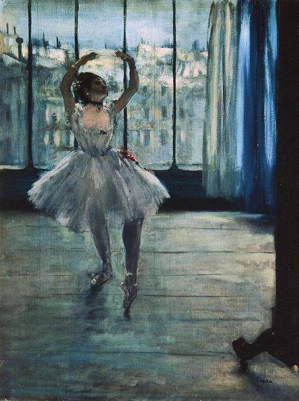 Vertical Poster featuring the photograph Degas, Edgar 1834-1917. Dancer by Everett
