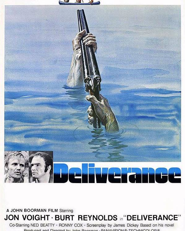 Deliverance Poster featuring the photograph Deliverance by Movie Poster Prints