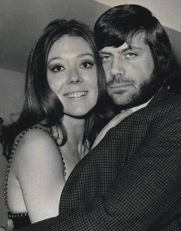 retro Images Archive Poster featuring the photograph Diana Rigg And Oliver Reed To Star In Film �the by Retro Images Archive