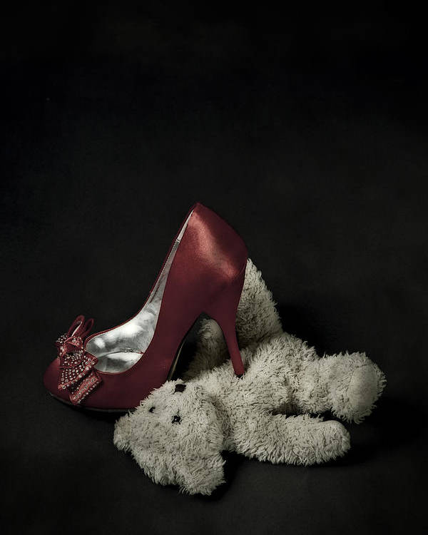 Shoe Poster featuring the photograph Don't Step On Me by Joana Kruse