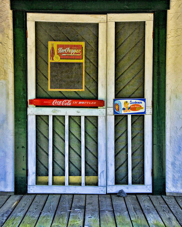 Kenny Francis Poster featuring the photograph Doorway To The Past by Kenny Francis