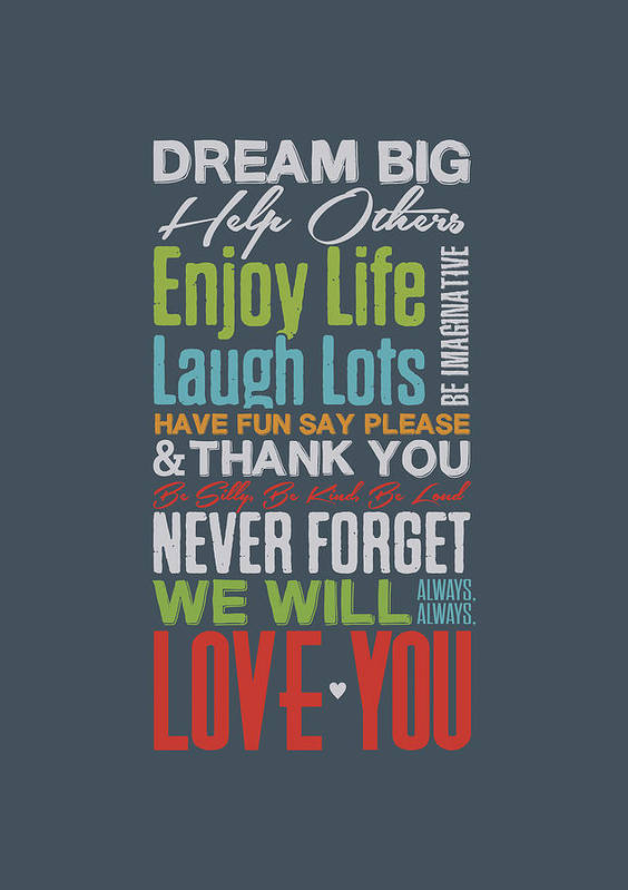 Dream Big Inspirational Motivational Quotes Poster Poster