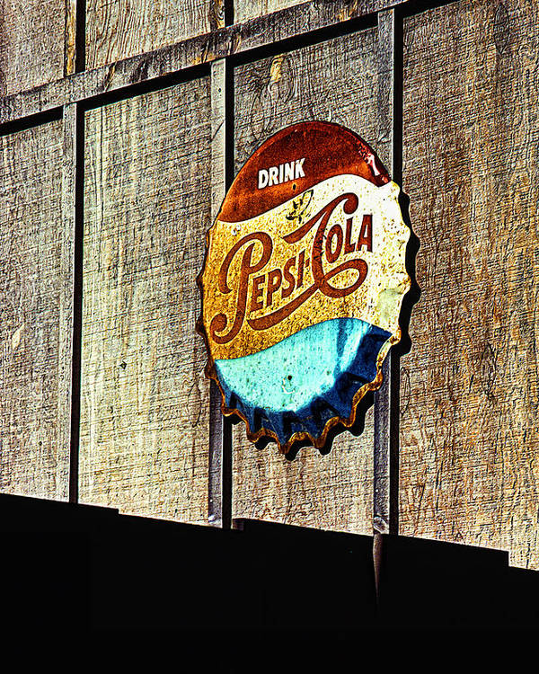 Drink Pepsi Cola Poster featuring the photograph Drink Pepsi Cola by Ron Regalado