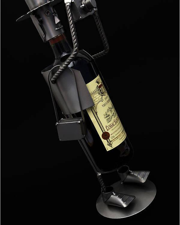 Wine Poster featuring the photograph Drunken Tog by Nigel Jones