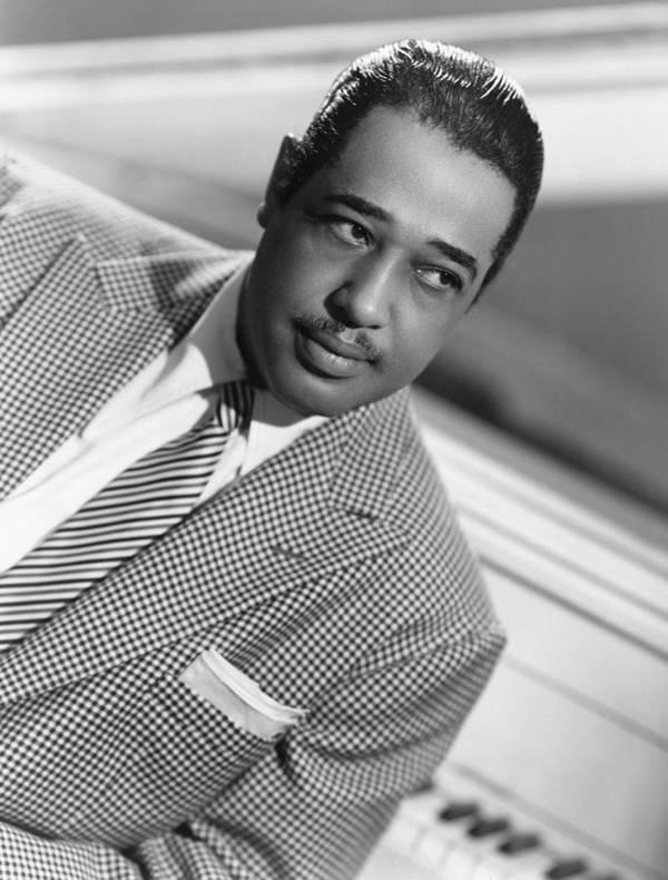 1950 Poster featuring the photograph Duke Ellington (1899-1974) by Granger