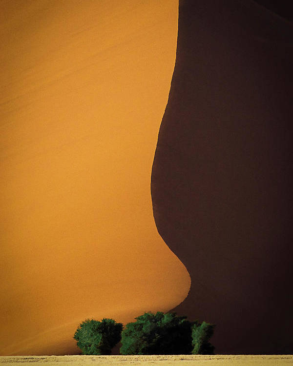 Sand Poster featuring the photograph Dune 1 by John Rickwood