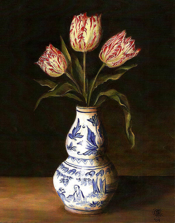 Dutch Still Life Poster featuring the painting Dutch Still Life by Teresa Carter