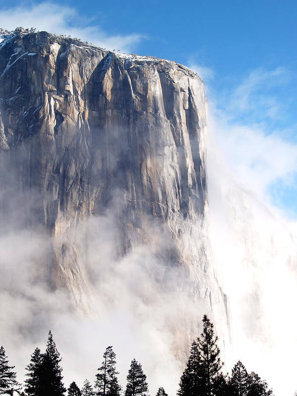 Yosemite Poster featuring the photograph El Capitan by Bill Gallagher