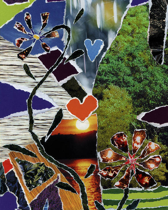 Everyone Love's Their Nature Poster featuring the mixed media Everyone Love's Their Nature by Kenneth James