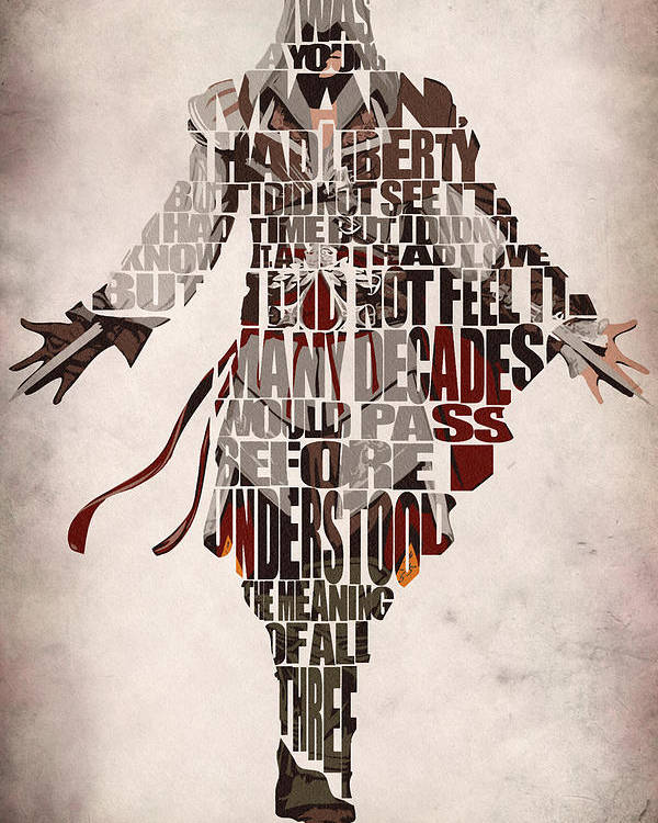 Ezio Auditore Da Firenze From Assassin S Creed 2 Poster By Inspirowl Design