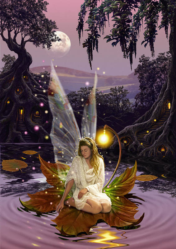 Fairies Poster featuring the photograph Fairy Princess by Garry Walton