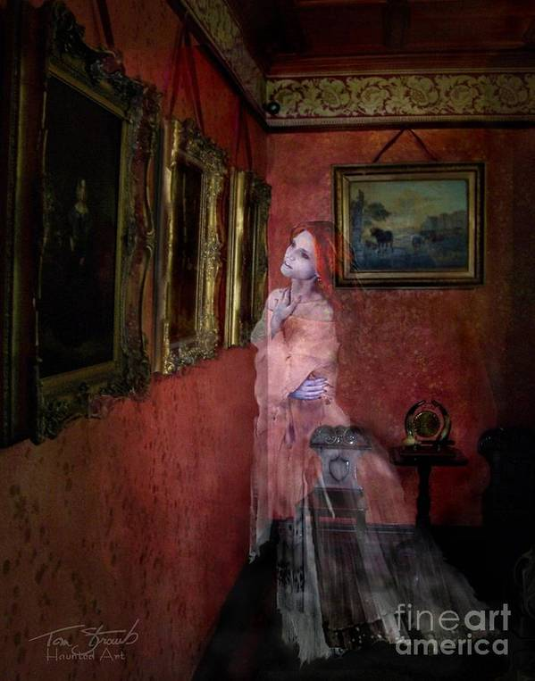 Ghost Poster featuring the photograph Favorite Painting by Tom Straub