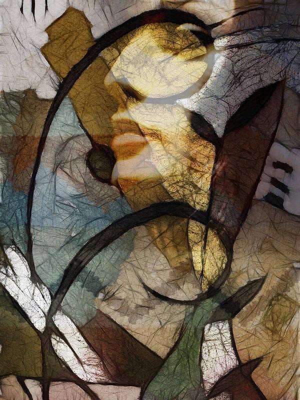Feelings Poster featuring the digital art Feelings by Ann Croon