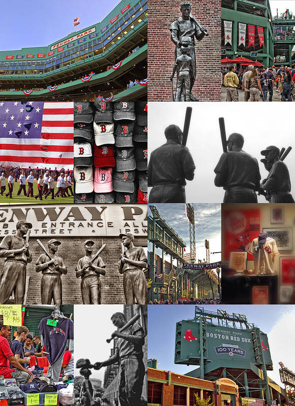 Boston Red Sox Poster featuring the photograph Fenway Memories by Joann Vitali