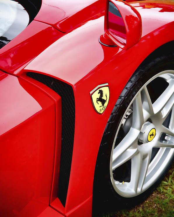 Ferrari Enzo Poster featuring the photograph Ferrari Enzo by Phil 'motography' Clark
