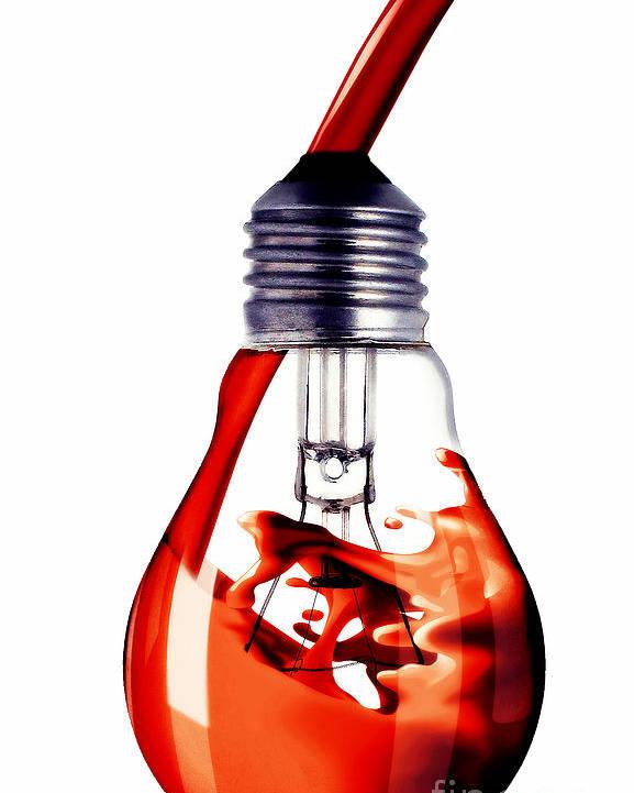 Artwork Poster featuring the digital art Fine Art Untitled No.33 by Caio Caldas