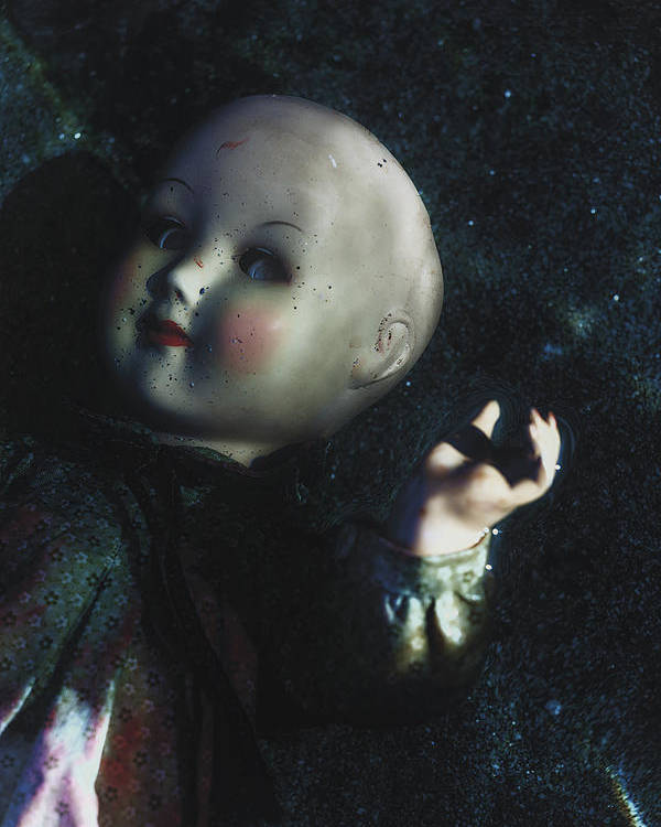 Doll Poster featuring the photograph Floating Doll by Joana Kruse
