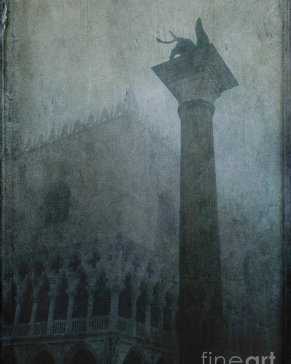 Venice Poster featuring the photograph Foggy Morning by Marion Galt