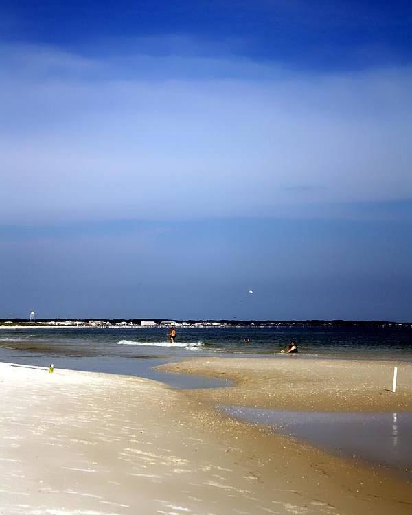 Florida Poster featuring the photograph Forida Beach by Debra Forand