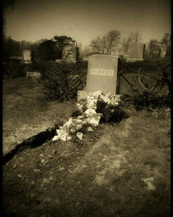 Poster featuring the photograph Fresh Grave by Patrick Nadeau