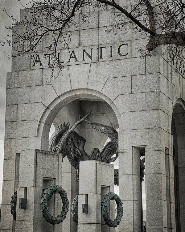 Monument Poster featuring the photograph From The Atlantic by Joan Carroll