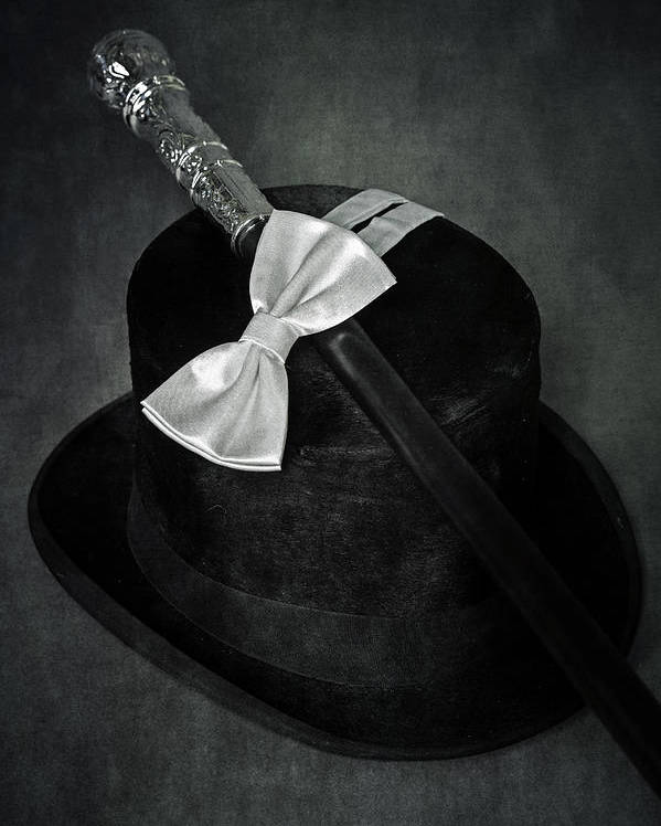 Top Hat Poster featuring the photograph Gentleman by Joana Kruse