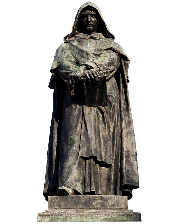 61a9b24ada283 Rome Poster featuring the photograph Giordano Bruno by Fabrizio Troiani