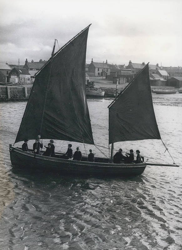 retro Images Archive Poster featuring the photograph Gordonsrtoun School Seamanship Has An Important Place In by Retro Images Archive