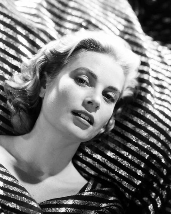 Grace Kelly Poster featuring the photograph Grace Kelly by Silver Screen