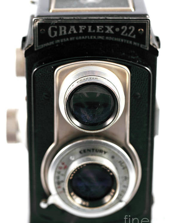 Still Life Poster featuring the photograph Graflex 22 Full View by John Rizzuto