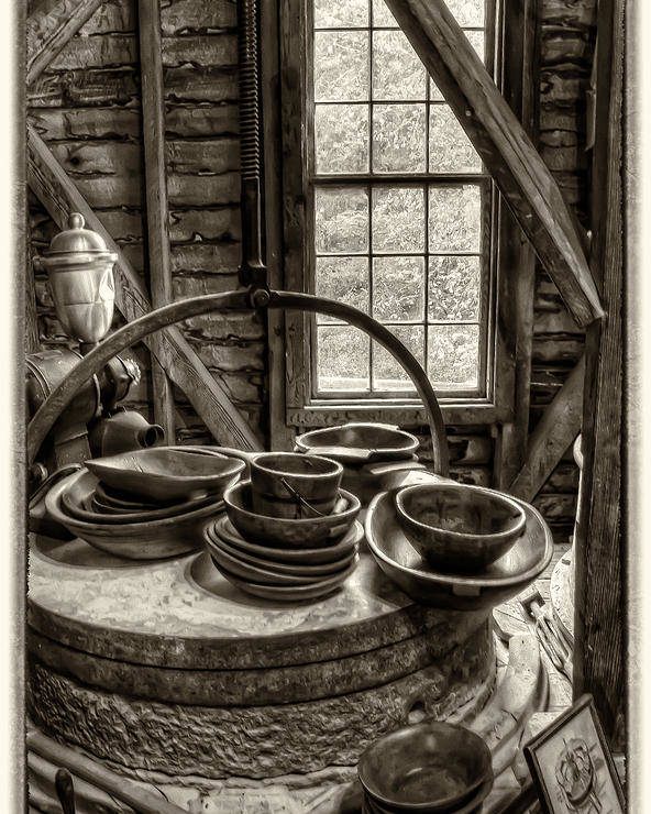 Grist Mill Poster featuring the photograph Grist Mill by Donnie Bagwell