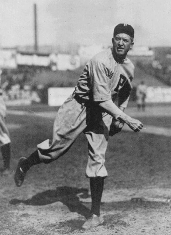 Grover Cleveland Alexander Poster featuring the photograph Grover Cleveland Alexander 1915 by Unknown