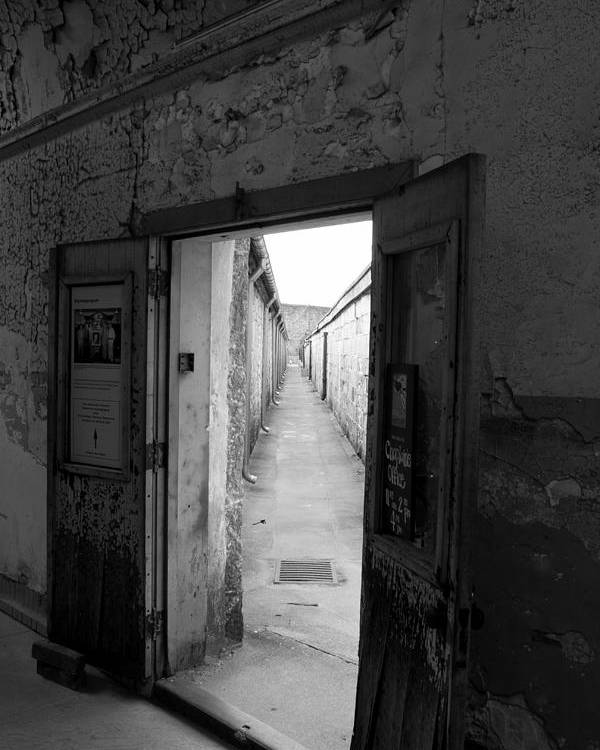 Eastern State Penitentiary Poster featuring the photograph Guantlet by Chris Gent