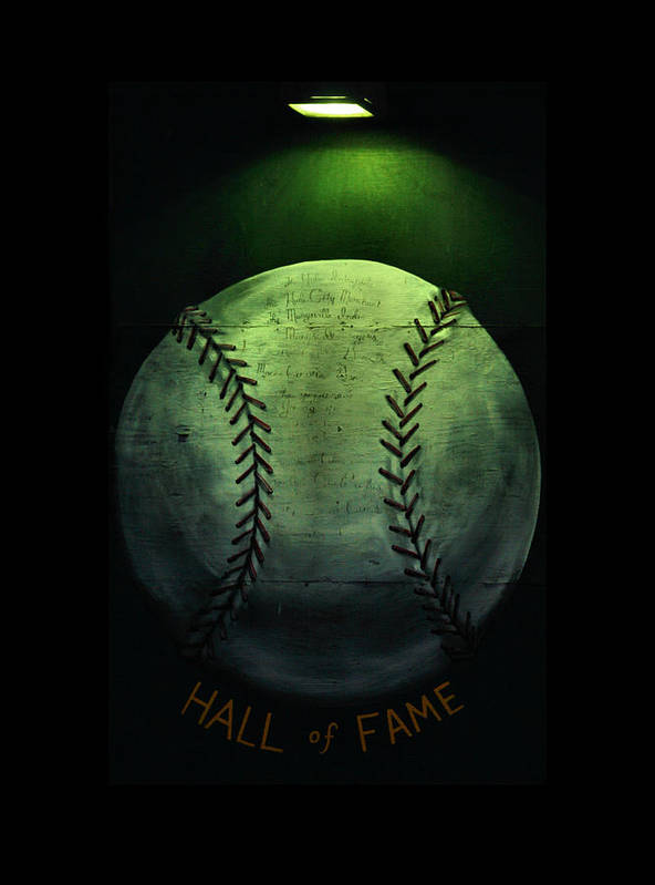 Marysville Poster featuring the photograph Hall Of Fame by Karen M Scovill