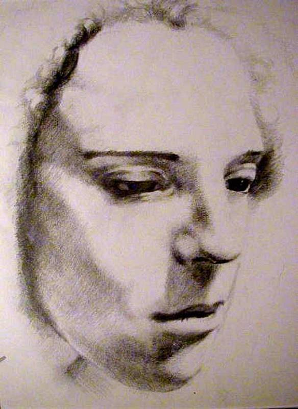 Pencil Poster featuring the drawing Hayley by X  Sitterley