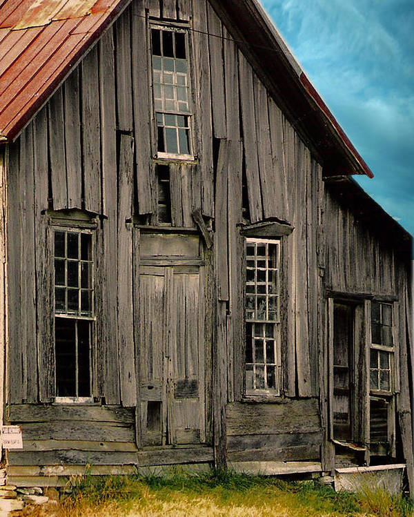 Shack Poster featuring the photograph Shack Of Elora Tn by Lesa Fine