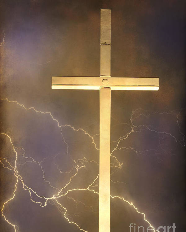 Easter Poster featuring the photograph He Has Risen by James BO Insogna